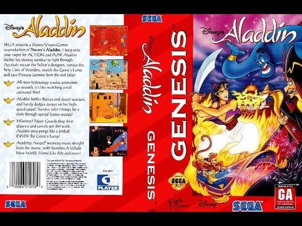 Disney's Aladdin SEGA Gameplay
