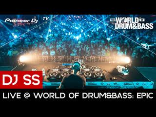 Dj ss - live @ world of drum&bass: epic (28.09.19)