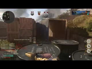 Escalation+the drilling=a crazy seven multi-kill. cod wwii