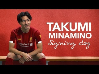 Signing Day VLOG: Minamino's first day at Liverpool   サイニングVlog - 南野拓実選手のリヴァプールFCでの初日に