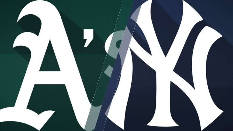 AL / 30.08.2019 / OAK Athletics @ NY Yankees (1/3)