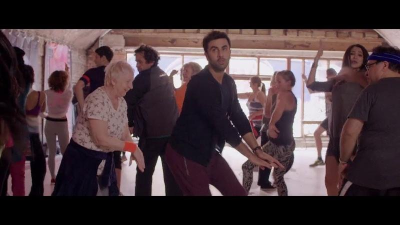 Ranbir Kapoor Funny Dance Scene In Ae Dil Hai Mushkil Anushka Sharma