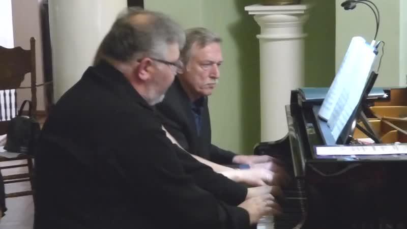 Максим Бирюков. Вальс прощания из цикла Пасторальные эскизы для фортепиано в 6 рук