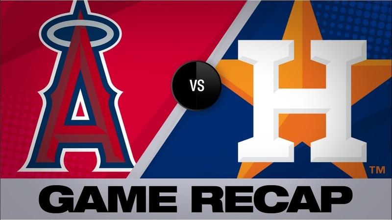Bregman, Brantley power Astros past Halos   Angels-Astros Game Highlights 8/24/19
