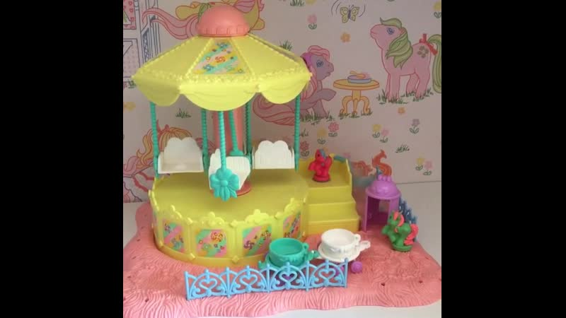 Prancing Pretty Carousel with Topper and Whirly