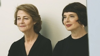 Actors on Actors Charlotte Rampling and Isabella Rossellini - Full Video