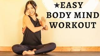 Легкая 20-минутная тренировка пилатес. Easy Fresh Mind Body Full Pilates Workout | 20 Minutes With Hannah At Home