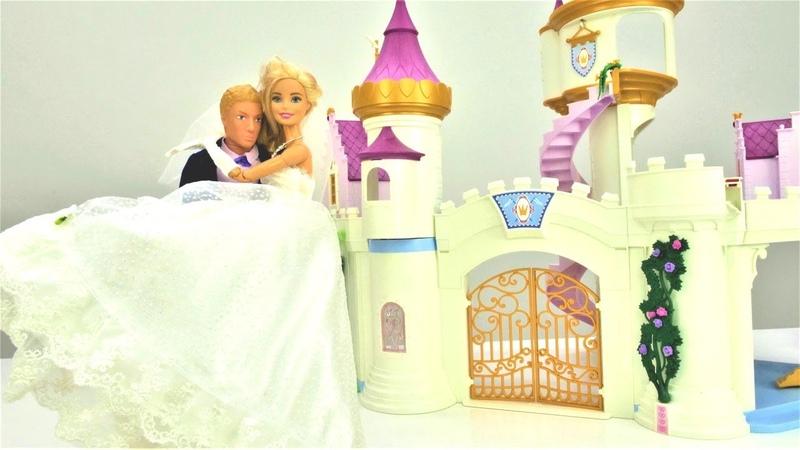 Куклы Барби на свадьбе Barbie и Кен