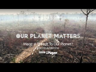 "BBC present ""Мясо: угроза нашей планете/Meat: A Threat to Our Planet"" Trailer 2019"