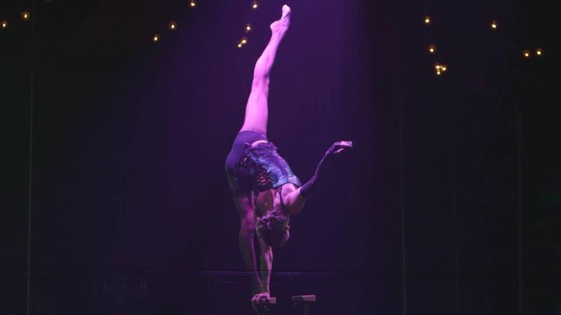 Maria Sarach Popazova burlesque Melody sweet show