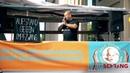 Heiko Schrang Kampfansage an die Politik vor dem Brandenburger Tor