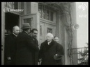 GERMANY King Amanullah Khan of Afghanistan visits the Archenhold observatory 1928