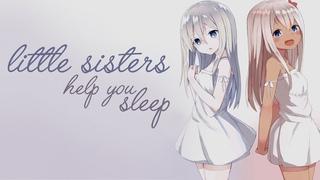 [ASMR] Twin Little Sisters Help You Sleep