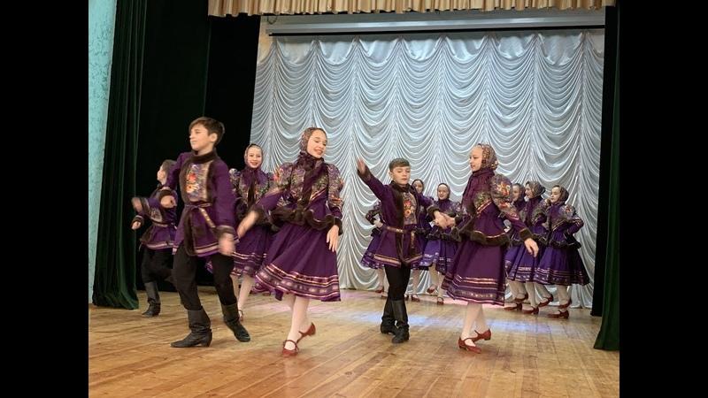 Русская деревня Народный ансамбль танца Дубравушка Радуга Поволжья