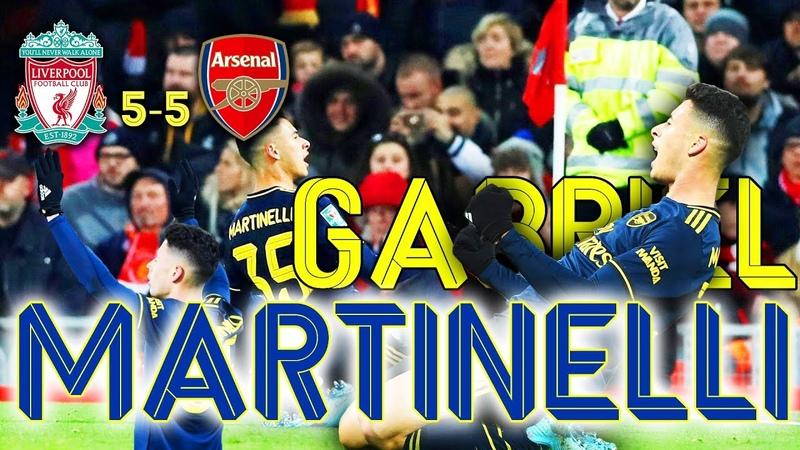 🔥Gà son Martinelli gáy tại Anfield⚽Liverpool 5-5 Arsenal 30/10/2019 Martinelli Arsenal Liverpool