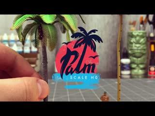 Создание реалистичной пальмы с нуля