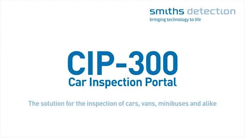 CIP-300 for vehicle inspection