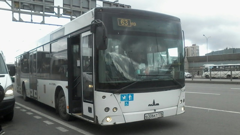 Автобус 63 Ул Костюшко ст м Купчино Трасса Изменена