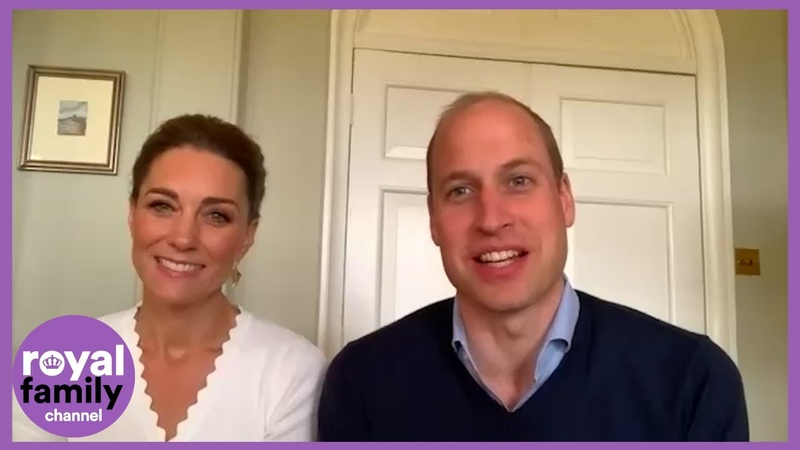 Prince William and Kate Check in on Text Charity Crisis Volunteers