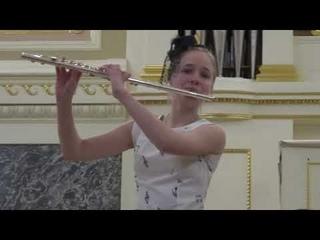 "Мария Ржаницына, флейта; Анна Ерохина,концертмейстер - ""Ноктюрн"" (Цыбин)"