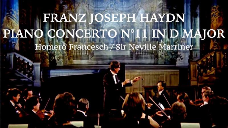 Haydn Piano Concerto No 11 in D Video hd 720p reference recording Homero Francesch Marriner