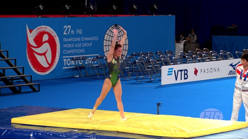 2019 Trampoline Worlds Tokyo JPN Viktoriia DANILENKO RUS Qualifications Women's Tumbling