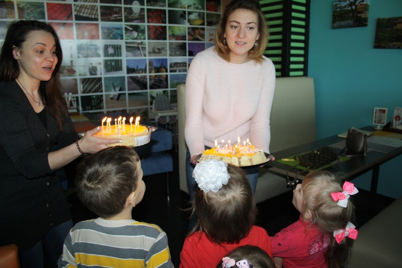 Дни рождения в Детских домах
