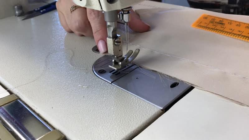 МК: Пошив шелковой майки. Часть 5