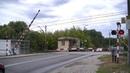 Spoorwegovergang Łowicz (PL) Railroad crossing Przejazd kolejowy
