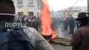 Ecuador Police fire tear gas as anti government protests continue in Quito
