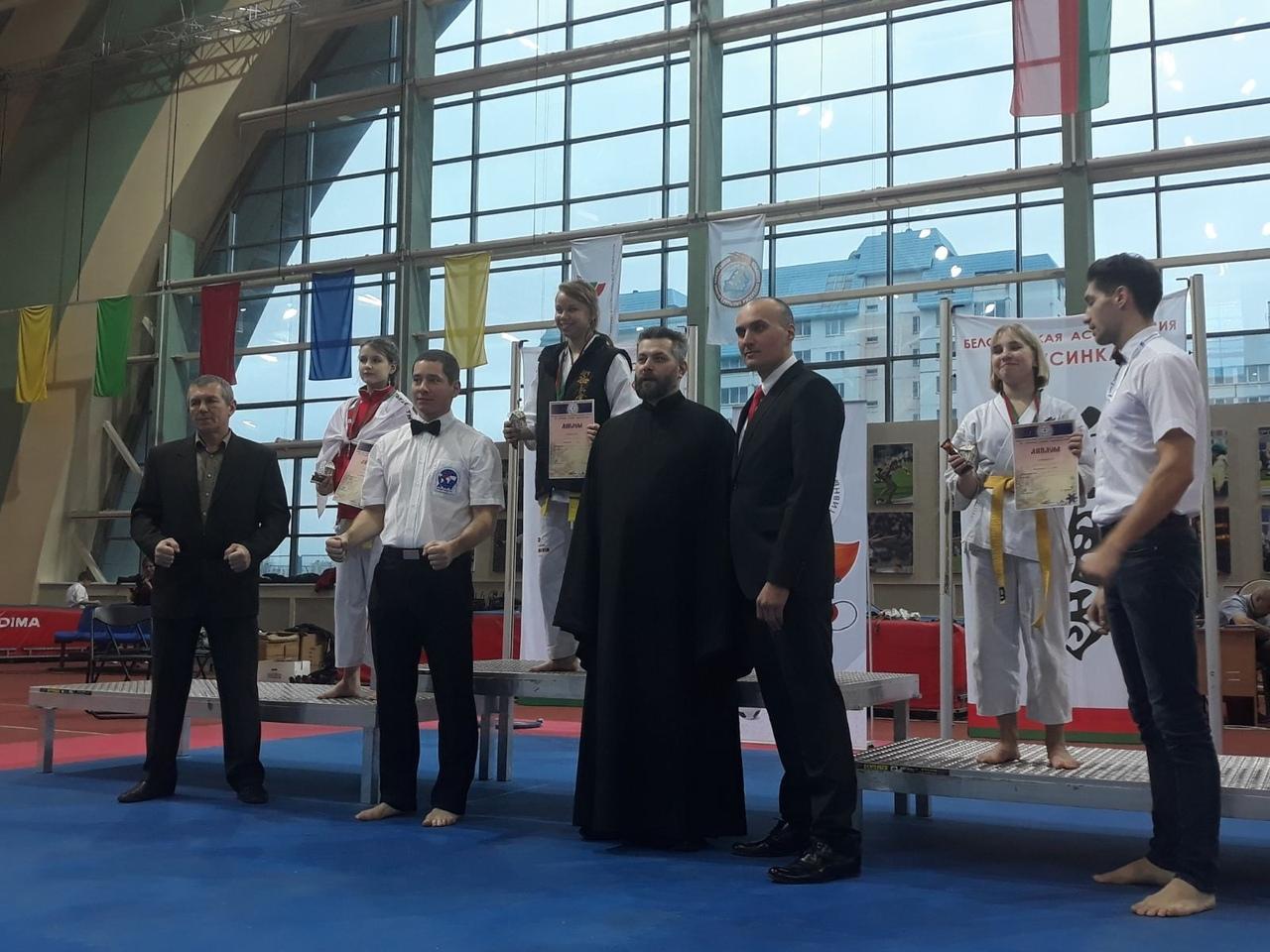 Евгения Можейко (1-е место).