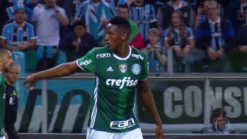 Grêmio x Palmeiras (Copa do Brasil 2016 - Quartas de Final;Jogo de Ida)