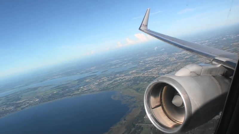 Behold The Mighty 757 Roar Awesome First Class HD 757 Takeoff From Orlando