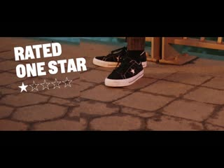 Zayn x converse rated one star