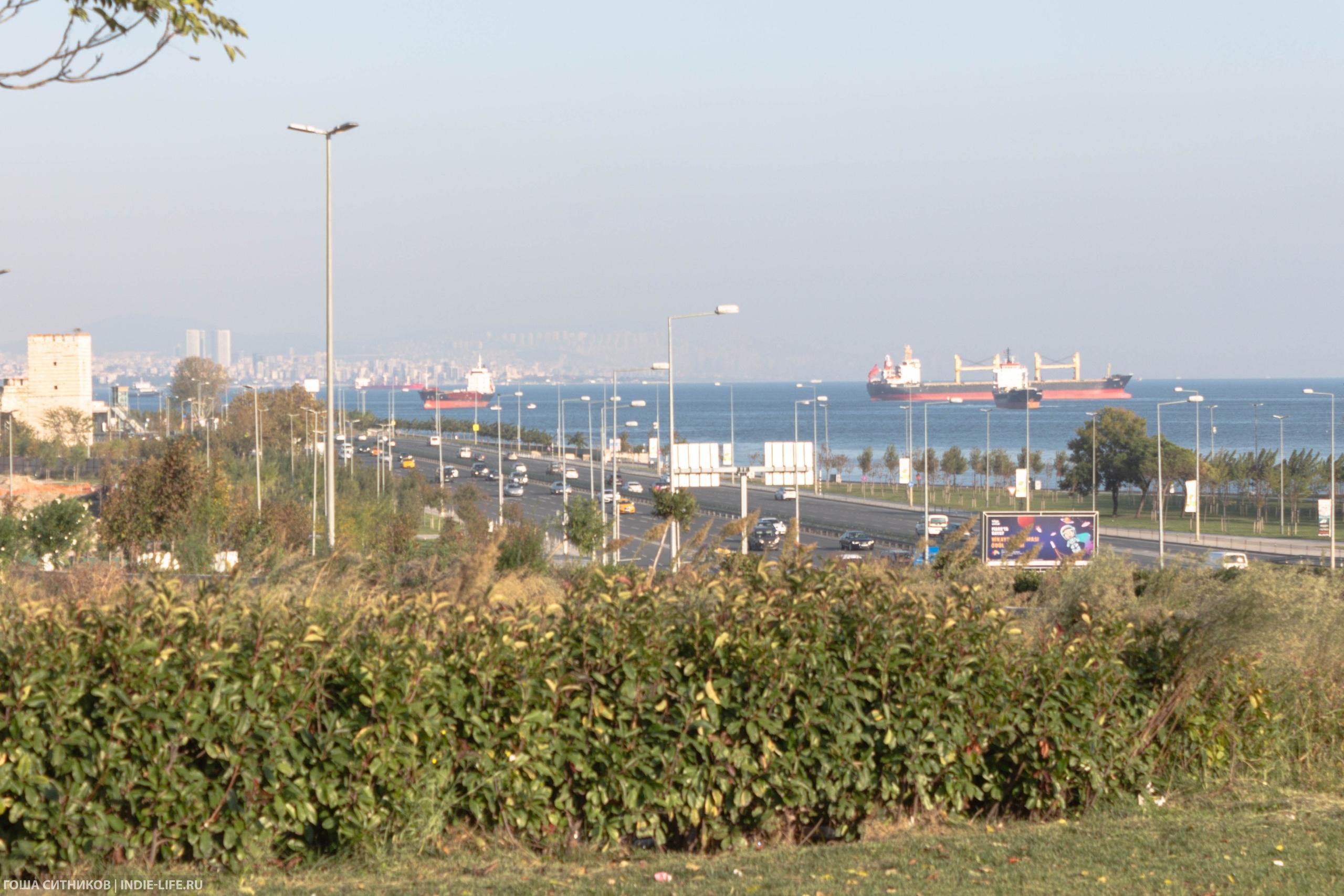 Набережная Мраморного моря