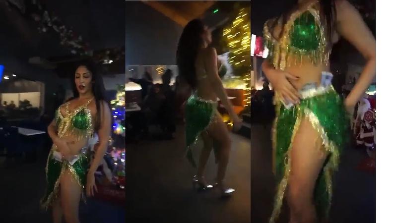 Pegah belly dance Shik Shak Shok - رقص شرقى