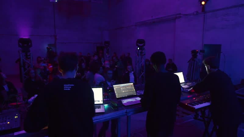 GAMMA LAB AI Improvise Live Act Ilya Selikhov Michal Mitro KMRU Symphocat GAMMA FESTIVAL 2019