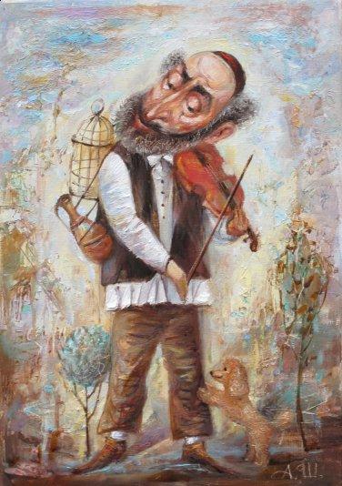 Художник Александр Шабанов пишет замечательные картины в стиле постмодерн