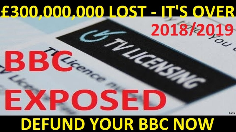 EXCLUSIVE 583 538 CANCEL BBC LICENCE Fee £300 000 000 Now Lost PA OFFICIAL FOI Defund BBC NOW