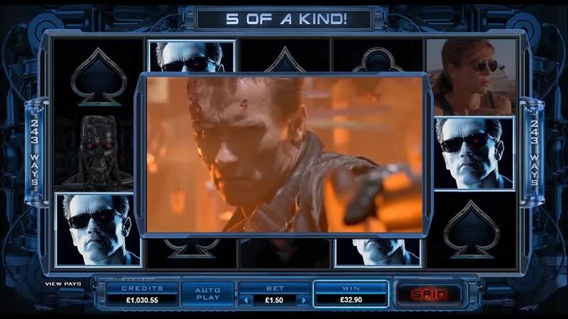 Лучшие слоты Microgaming | Terminator 2 Online Slot Game Promo