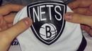 Баскетбольные шорты Nike Brooklyn Nets белые