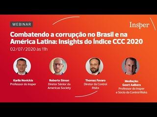 Combatendo a corrupção no Brasil e na América Latina: Insights do Índice CCC 2020
