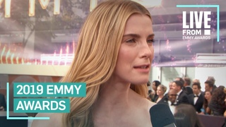 Betty Gilpin's Parents Encouraged Her Not To Act-Here She Is at Emmys | E! Red Carpet & Award Shows