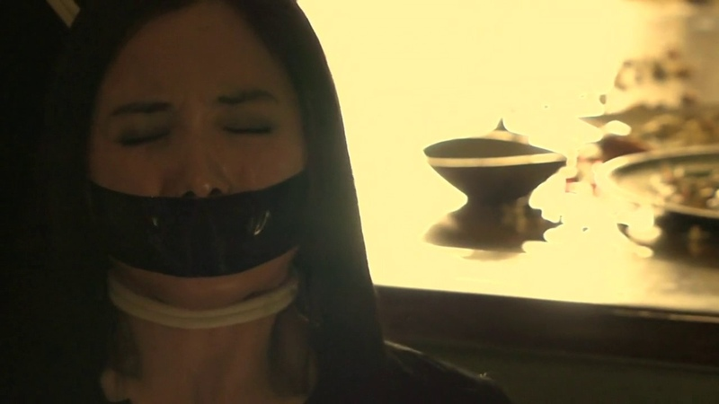 Tape gagged girl (Honey trap 07)
