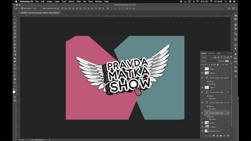 Как создавался логотип Pravda Matka Show?