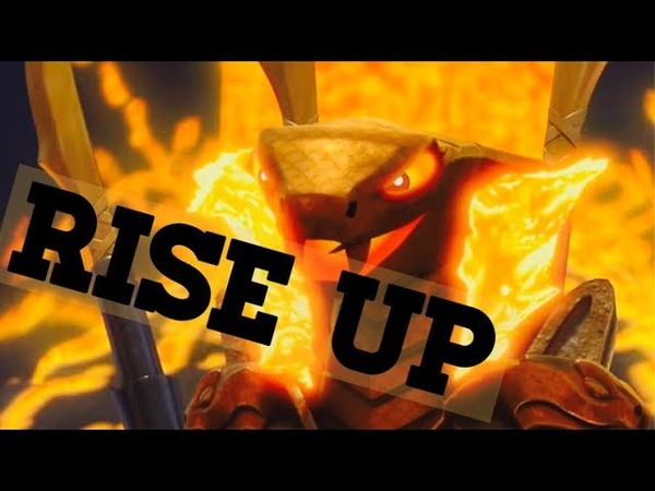 LEGO Ninjago Masters Of Spinjitzu Aspheera Tribute Rise Up AMV