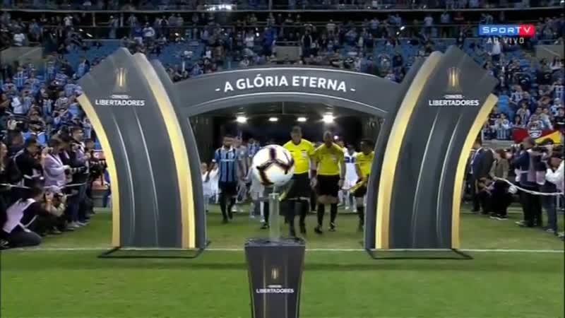Кубок Либертадорес 2019 Группа H 6 тур Гремио Бразилия Универсидад Католика Чили 1 тайм 08 05 19