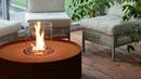 Fire Pit Corten – биокамин в виде костровой свечи от Planika в гипермаркете каминов Биокамин