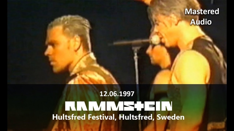Rammstein - Live at Hultsfred Festival, Hultsfred, Sweden (12.06.1997) | [Pro-Shot] 1080p