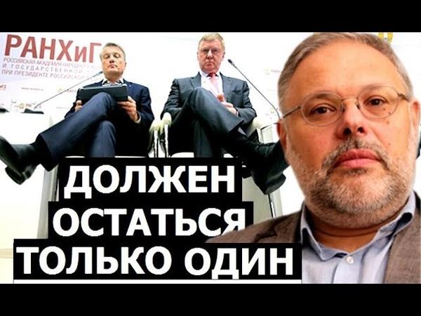 Элитные группировки России Михаил Хазин